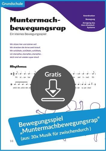 """Gratis-Download: Muntermachbewegungsrap (aus: """"30x Musik für zwischendurch"""")"""