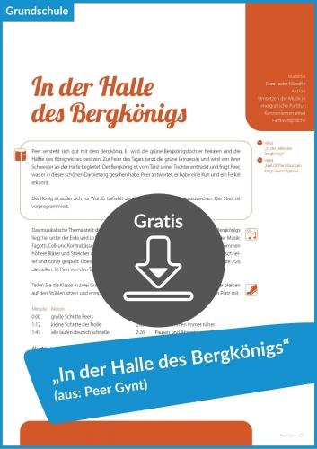 Gratis-Download: In der Halle des Bergkönigs (Peer Gynt)