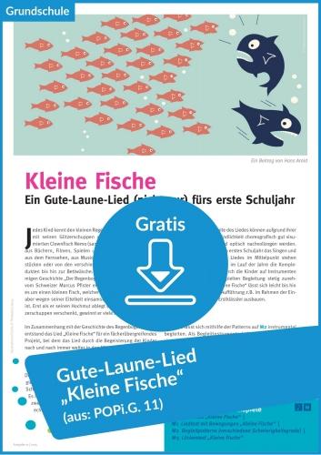 """Gratis-Download: """"Kleine Fische"""" mit Ideen zum Nachspielen"""