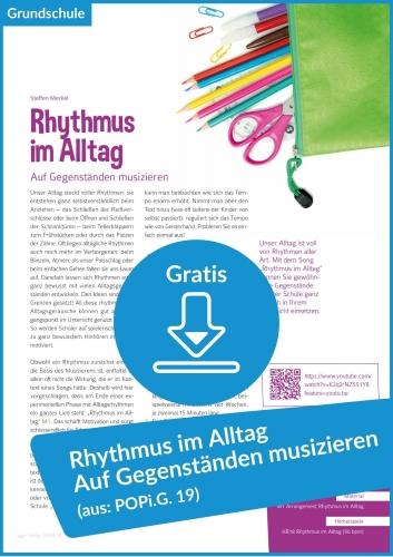 Gratis-Download: Rhythmus in der Grundschule