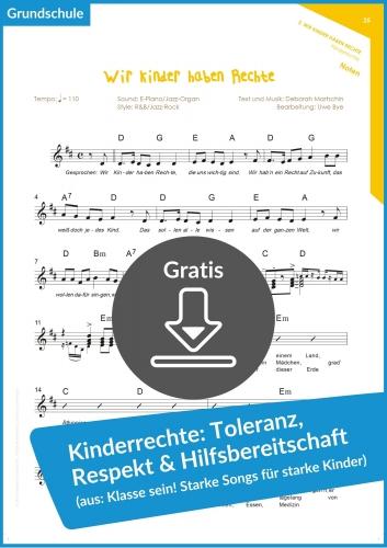 Gratis-Download: Unterrichtsmaterial zum Thema Toleranz und Hilfsbereitschaft für die Grundschule