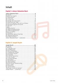 4 Komponisten: Bach - Haydn - Mozart - Beethoven (Heft inkl. CD's)