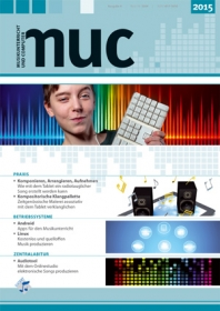 Musikunterricht und Computer 2015 (Heft inkl. DVD)