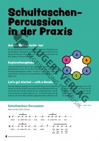 Schultaschen-Percussion – 12x Rhythmus mit Alltagsgegenständen von Kinderlied bis Popsong (Heft und CD)