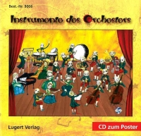 Instrumente des Orchesters (Poster + CD)