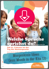 Gratis-Download: Tag der Muttersprache in der Kita