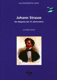 Johann Strauss Mediapaket - Heft und CD